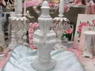 Shabby Ornate Finial Home Decor Cottage Chic French Country