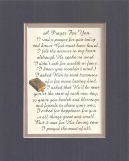 for You Gods Loving Care Friends Happiness Verses Poems Plaques