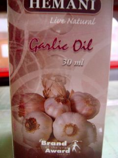 Hemani 30ml Garlic Oil Pure Natural Essential Oil Many Benefits USA