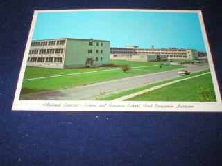 US ARMY BASE FORT BENJAMIN HARRISON INDIANA ADJUTANT GENERALS SCHOOL