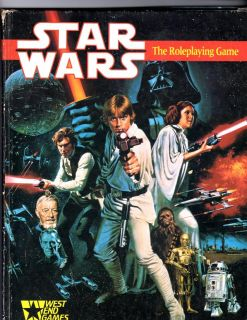Star Wars The Roleplaying Game 1st Edition Hardcover Complete