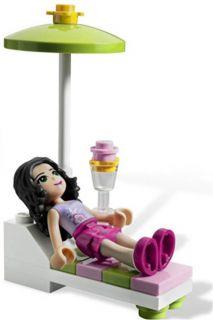 complete set of LEGO Friends 3931 Emmas Splash Pool NEW IN BOX