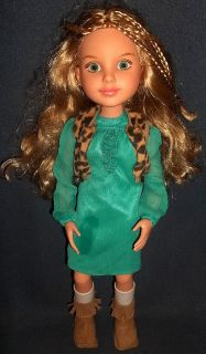 Best Friends Club Doll Kaitlin 18 MGA 2009 Blonde Green Eyes Clothing