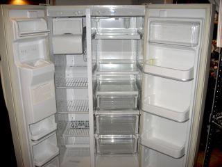Frigidaire Gallery FRS26ZTH Side by Side 26 Cu ft Refrigerator Freezer