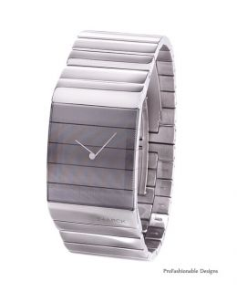 Fossil Silver Stainless Steel Bracelet PH5016 Mens Watch