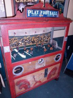 Vintage..Penny Arcade Game Play Football1926..Works
