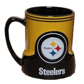 Pittsburgh Steelers NFL Football Game Time 20oz Ceramic Coffee Mug