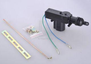 System 2 Wire 2 Wire Central Door Lock Single Gun Type Actuator