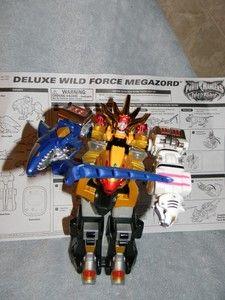Power Ranger Deluxe Wild Force Megazord