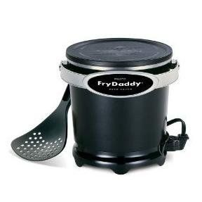 features of presto fry daddy deep fryer makes four big