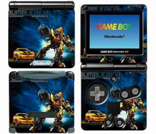 015 Vinyl Decal Skin Sticker for Game Boy Advance GBA SP