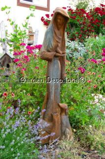 Artistic 38 St Francis Assisi Garden Statue Dog Cat