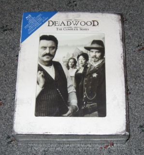 Deadwood The Complete Series Blu ray 13 Disc Set New and Sealed