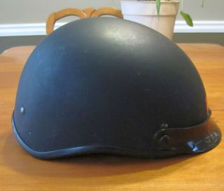 Fulmer Trooper DOT approved Motorcycle Half Helmet Small model FMVSS