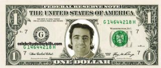 INDY DRIVER DARIO FRANCHITTI #2 DOLLAR BILL UNCIRCULATED MINT US
