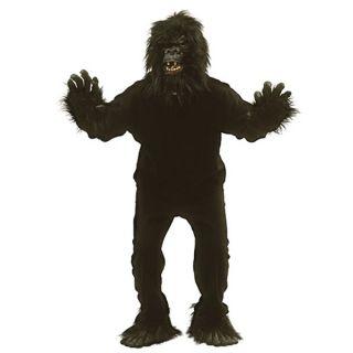 Monkey Fancy Dress Animal Costume – King Kong Body Suit Mask