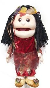 14 Pro Puppets Full Body Hand Glove Puppet Autumn Fairy