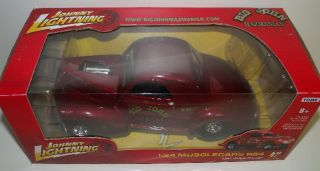 Big John MAZMANIAN 124 1941 Willys Gasser Muscle Car NEW IN BOX