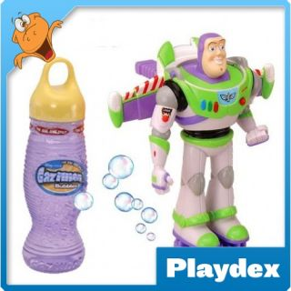 Funrise Gazillion Bubbles Toy Story Buzz Lightyear Bubble Blower