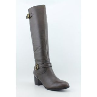 Franco Sarto Opera Womens Size 7 Brown Leather Fashion Knee High Boots