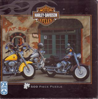 Davidson Motor Cycles Fatboy by Scott Jacobs FX Schmid Puzzle