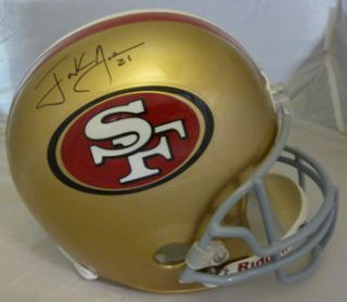 Frank Gore Autographed Signed San Francisco 49ers Riddell Full Size