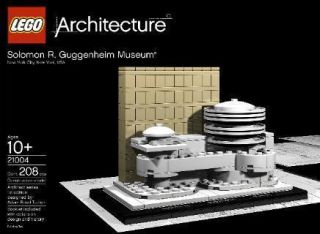 Solomon R. Guggenheim Museum Lego Frank Lloyd Wright Architecture Toy