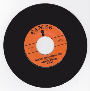 Hear Teen Doo Wop 45 Kenny Frank and Ray IM Going Away Cameo 144