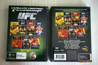 UFC MMA 31 37 DVD Box Set 32 33 34 35 36 37 Collection