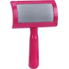 Franks Universal Soft Dog Grooming Slicker Brush