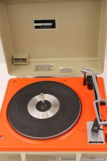Vintage GE Portable Record Player V638N Phonograph General Electric
