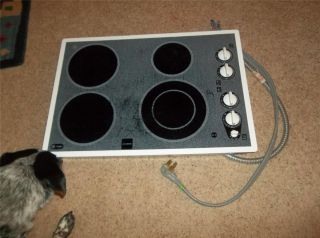 ge profile electric cooktop