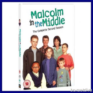 MALCOLM IN THE MIDDLE   COMPLETE SERIES SEASON 2 ***BRAND NEW DVD ***