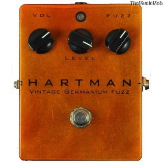 NEW HARTMAN ELECTRONICS GERMANIUM FUZZ PEDAL 0$ US SHIPPING w/ FREE