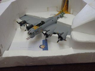 FRANKLIN MINT DIE CAST 1 48TH A BIT O LACE B 17 FLYING FORTRESS W BOX