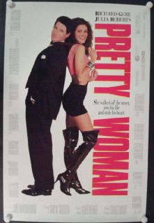 Pretty Woman Original Movie Poster 1sh Julia Roberts