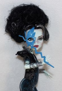 Monster High Frankie Stein Repaint OOAK  Angelina Jolie  Last Doll