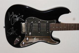 SAMMY HAGAR & MICHAEL ANTHONY of VAN HALEN Signed FENDER Stratocaster