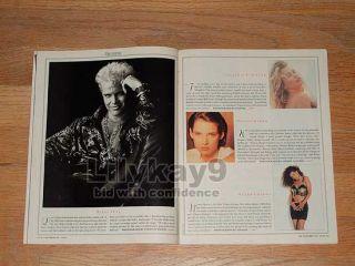 Andy Warhol Billy Idol Jeff Fahey Spandau Ballet Matt Dillon Kiefer