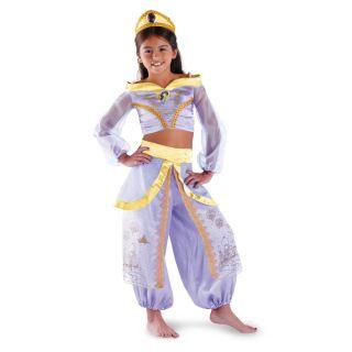 Jasmine Prestige Genie Aladdin Princess Girls Child Costume New