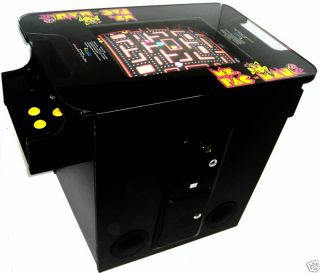 Play MS Pac Man Galaga on Arcade Factory Cocktail Table