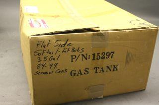 harley custom softail flatside gas tanks 3 5 gallion