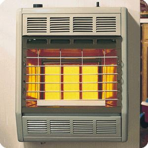18K BTU SR18T Vent Free Thermostatic Natural LP Gas Heater