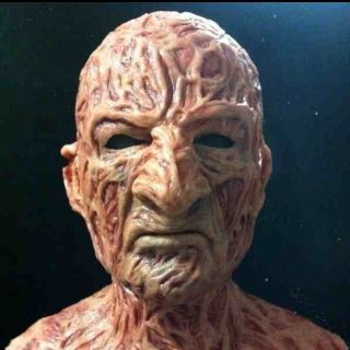 freddy krueger silicone mask nightmare horror jason fx no latex NO