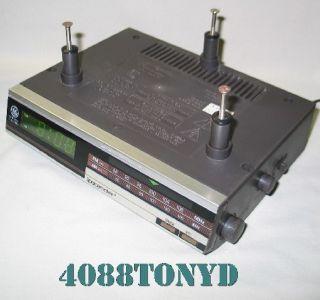 GE General Electric Spacemaker Kitchen Under Counter Clock Radio Model