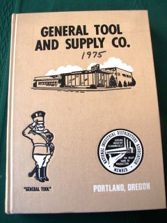 General Tool Supply Co 1974 Hand Power Tool Catalog 1000s of Products