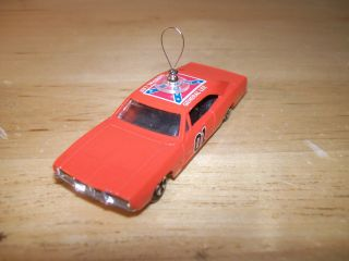General Lee 01 Christmas Tree Ornament