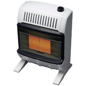 Home 10 000 BTU Propane Gas Vent Free Wall Room Radiant Space Heater