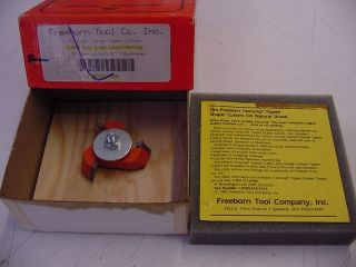 Freeborn Mini Pro Line Shaper Cutter MC 57 183 Bottom Carbide Tipped