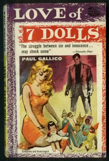 Paul Gallico Love of Seven Dolls GGA PB Blonde Cleavage